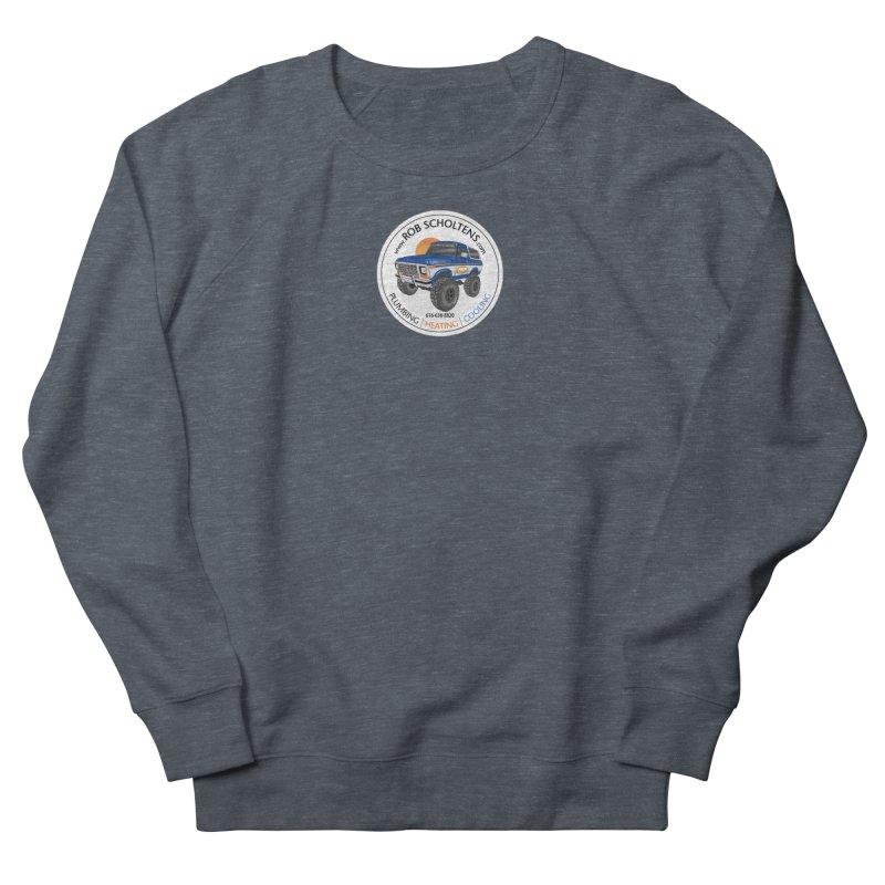 RS Bronco Men's French Terry Sweatshirt by Boneyard Studio - Boneyard Fly Gear