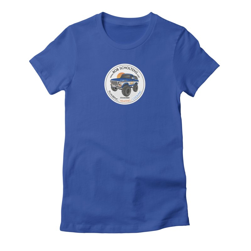 RS Bronco Women's T-Shirt by Boneyard Studio - Boneyard Fly Gear