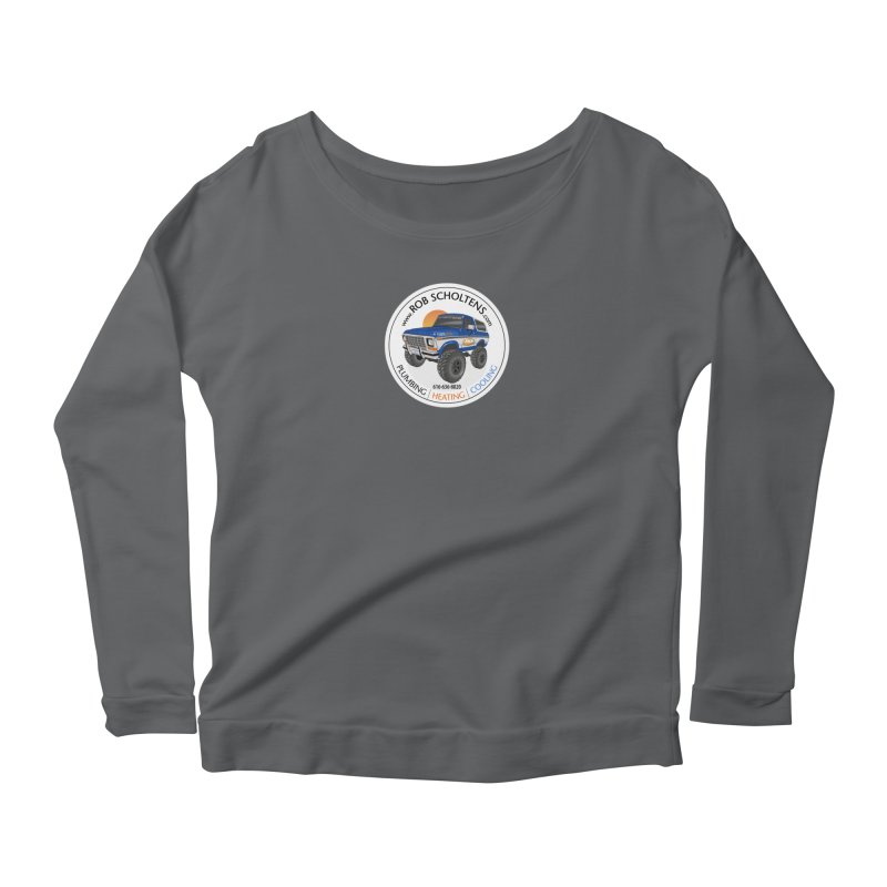 RS Bronco Women's Scoop Neck Longsleeve T-Shirt by Boneyard Studio - Boneyard Fly Gear