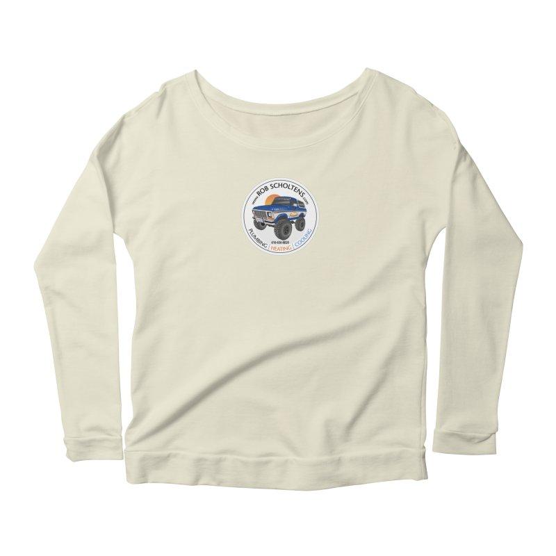 RS Bronco Women's Scoop Neck Longsleeve T-Shirt by Boneyard Studio - Boneyard Fly Gear