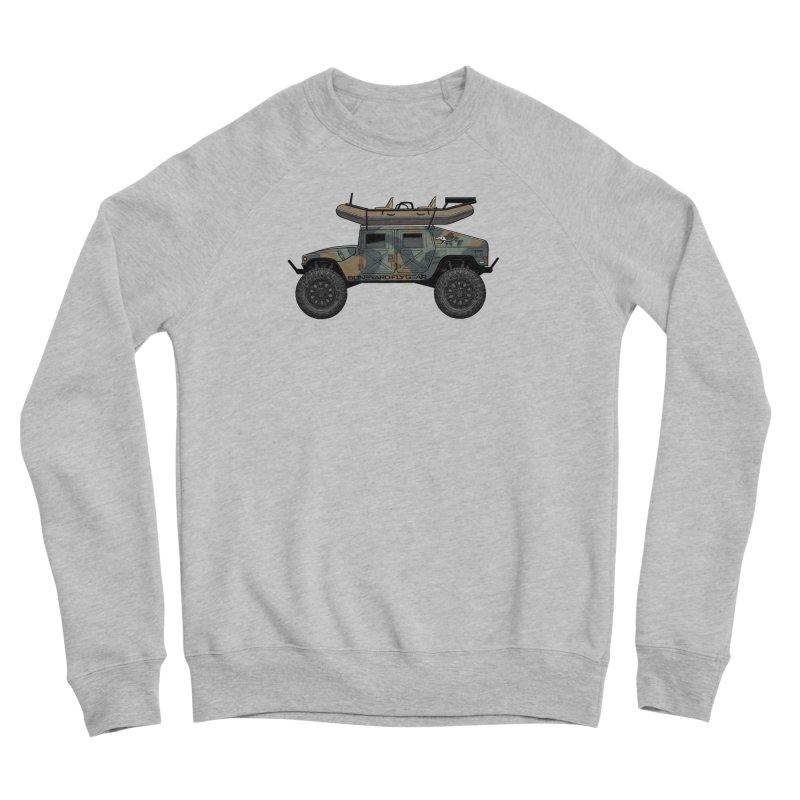 Humvee Adventure Rig Women's Sponge Fleece Sweatshirt by Boneyard Studio - Boneyard Fly Gear