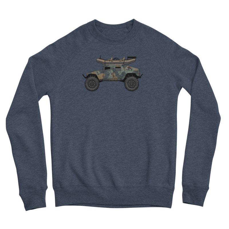 Humvee Adventure Rig Men's Sweatshirt by Boneyard Studio - Boneyard Fly Gear