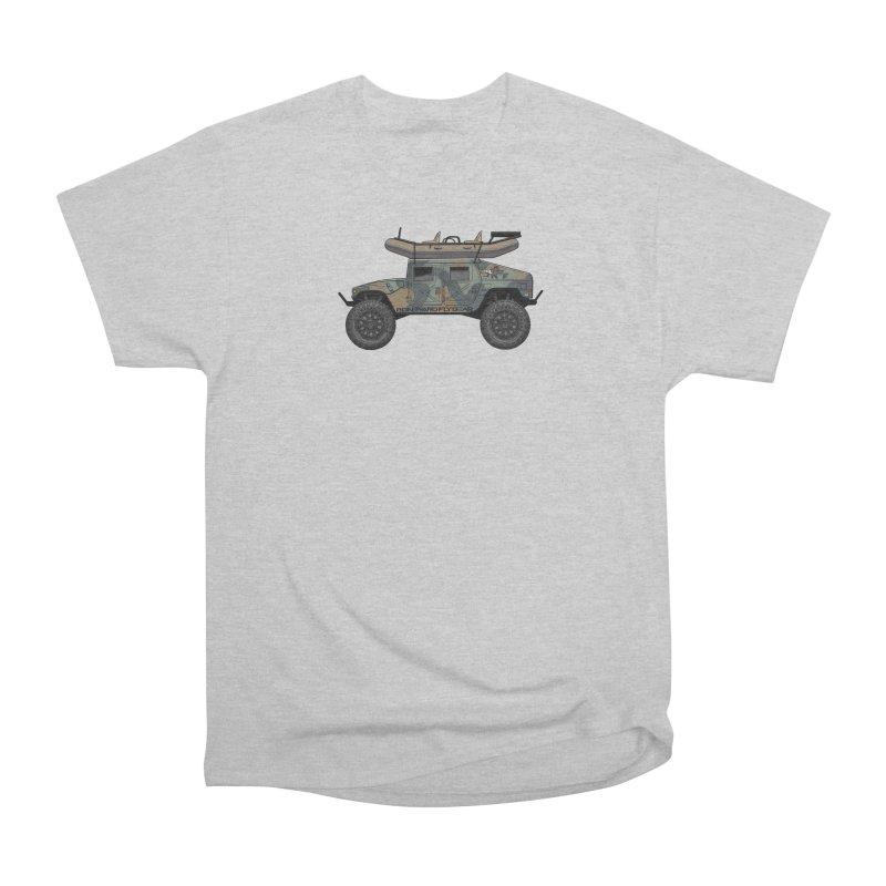 Humvee Adventure Rig Men's T-Shirt by Boneyard Studio - Boneyard Fly Gear