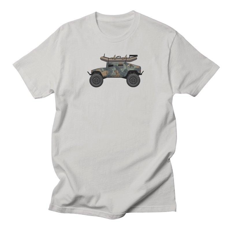 Humvee Adventure Rig Men's Regular T-Shirt by Boneyard Studio - Boneyard Fly Gear