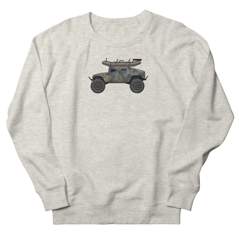 Humvee Adventure Rig Women's Sweatshirt by Boneyard Studio - Boneyard Fly Gear