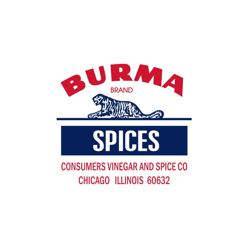 Burma Spices Men's Sweatshirt by Boneyard Studio - Boneyard Fly Gear