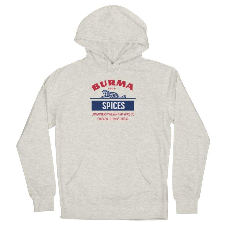 Burma Spices Men's French Terry Pullover Hoody by Boneyard Studio - Boneyard Fly Gear
