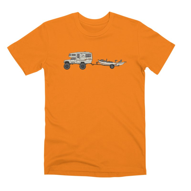 Toyota Sunrader Adventure Rig Men's T-Shirt by Boneyard Studio - Boneyard Fly Gear
