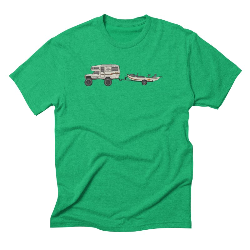 Toyota Sunrader Adventure Rig Men's T-Shirt by Boneyard Studio - Boneyard Fly Gear