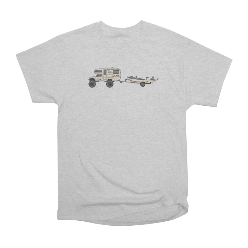 Toyota Sunrader Adventure Rig Men's Heavyweight T-Shirt by Boneyard Studio - Boneyard Fly Gear