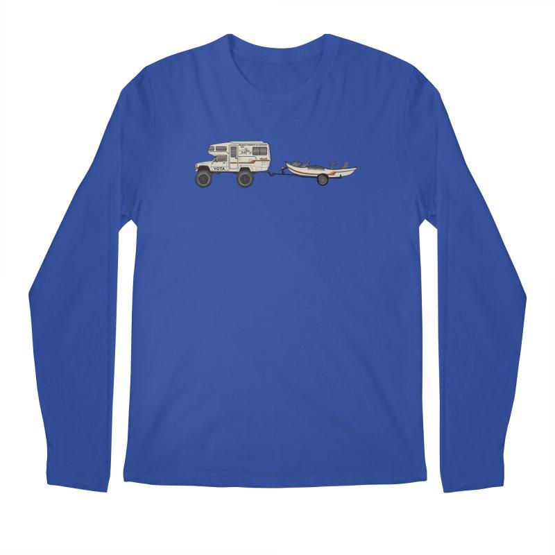 Toyota Sunrader Adventure Rig Men's Longsleeve T-Shirt by Boneyard Studio - Boneyard Fly Gear