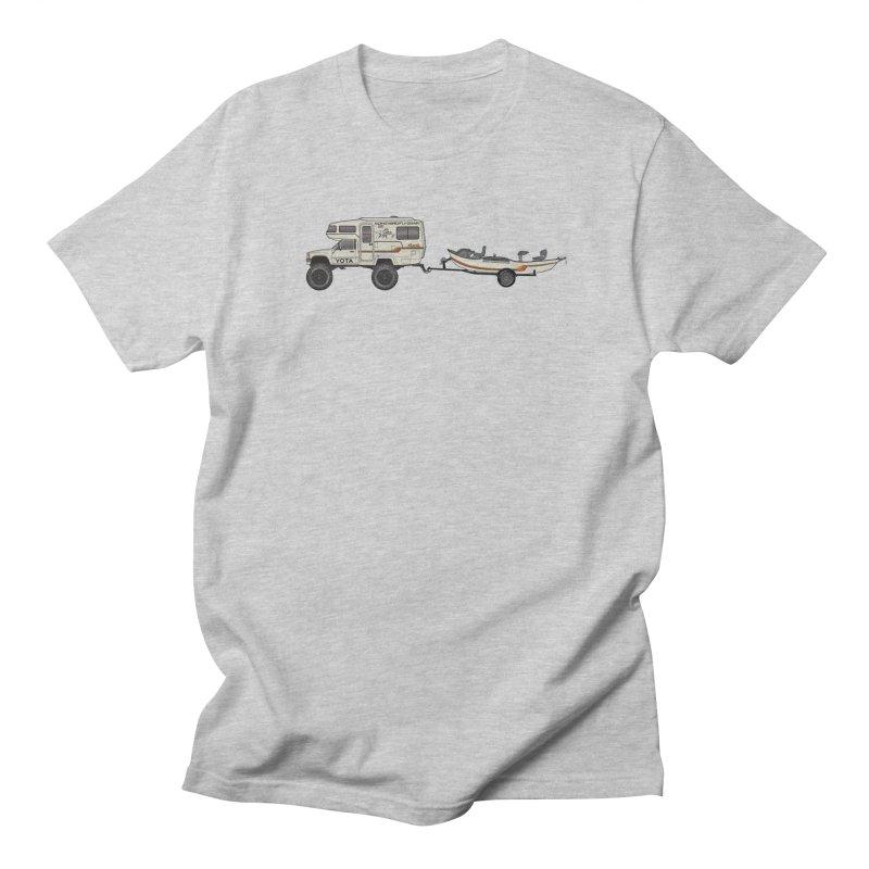 Toyota Sunrader Adventure Rig Men's Regular T-Shirt by Boneyard Studio - Boneyard Fly Gear