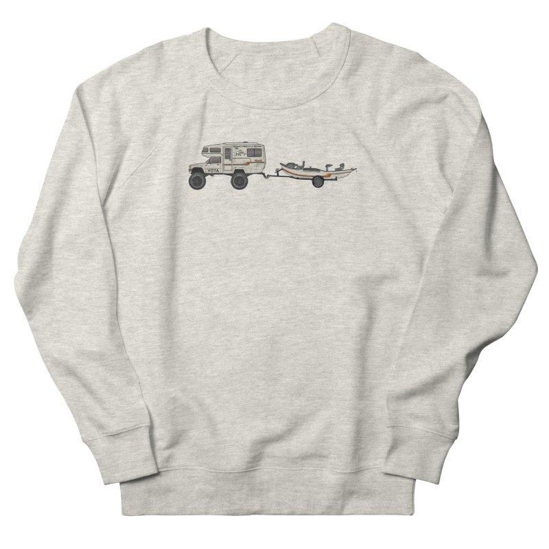 Toyota Sunrader Adventure Rig Men's Sweatshirt by Boneyard Studio - Boneyard Fly Gear