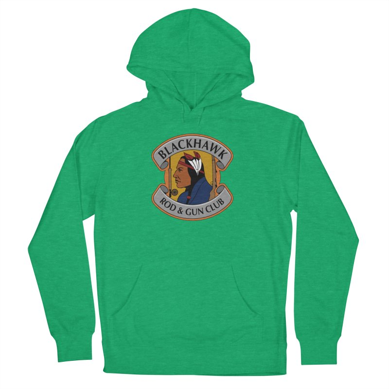 Blackhawk Rod and Gun Men's French Terry Pullover Hoody by Boneyard Studio - Boneyard Fly Gear