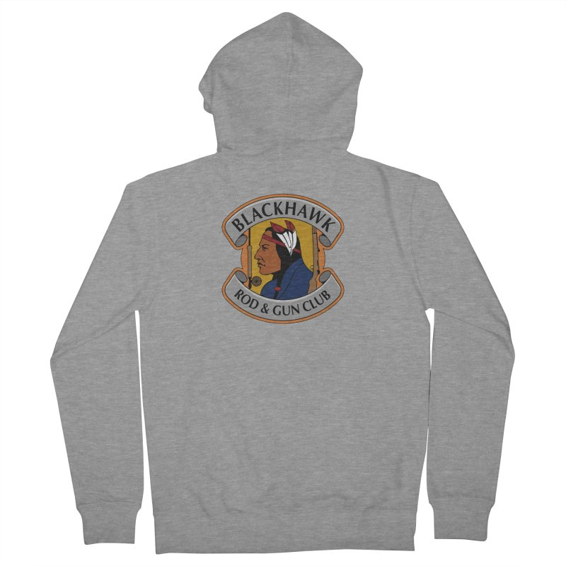 Blackhawk Rod and Gun Men's French Terry Zip-Up Hoody by Boneyard Studio - Boneyard Fly Gear
