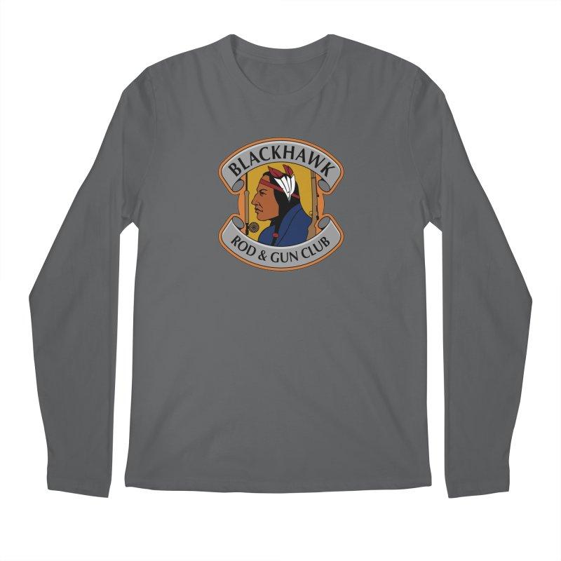 Blackhawk Rod and Gun Men's Regular Longsleeve T-Shirt by Boneyard Studio - Boneyard Fly Gear