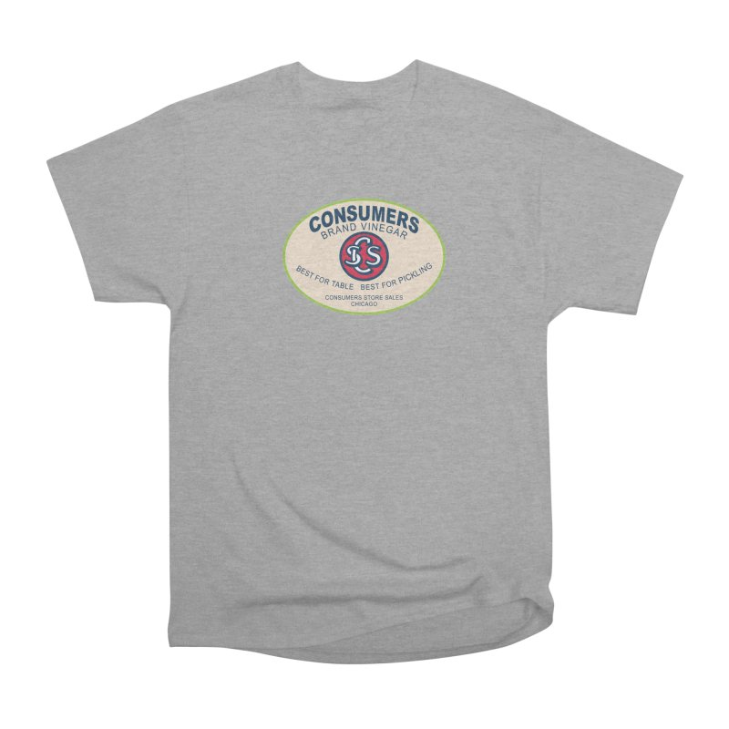 Consumers Vinegar Oval Men's T-Shirt by Boneyard Studio - Boneyard Fly Gear
