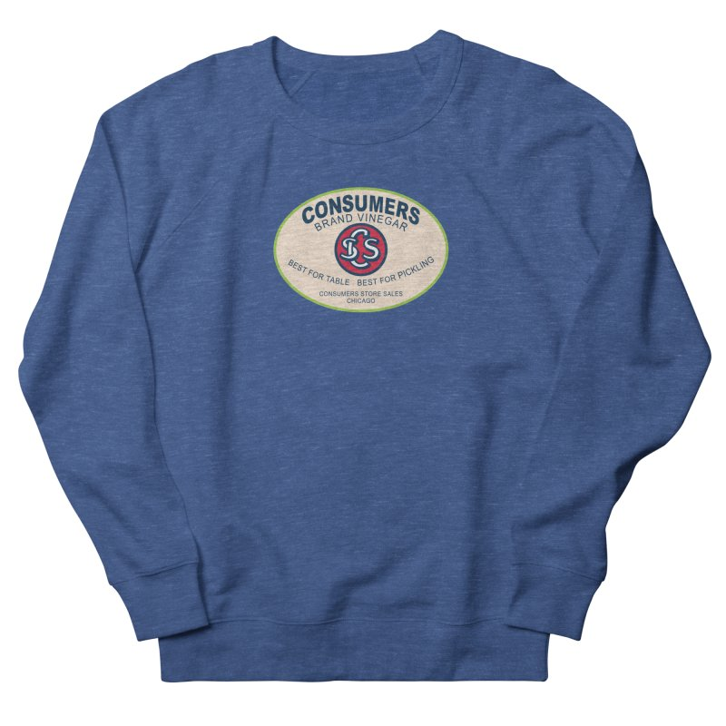 Consumers Vinegar Oval Men's Sweatshirt by Boneyard Studio - Boneyard Fly Gear