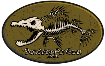 Boneyard Studio - Boneyard Fly Gear Logo
