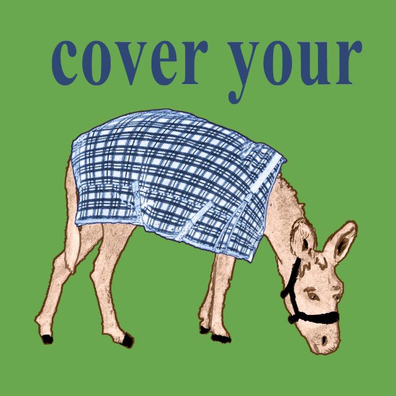 cover your ass | Women's T-Shirt Fitted | Bonnie Ferrante's Artist Shop
