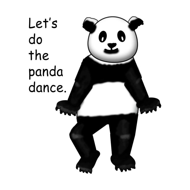 Dancing panda by Bonnie Ferrante's Artist Shop