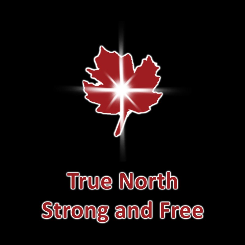 True North Strong and Free by Bonnie Ferrante's Artist Shop