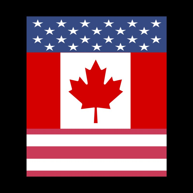 Allies - Canada - USA by Bonnie Ferrante's Artist Shop