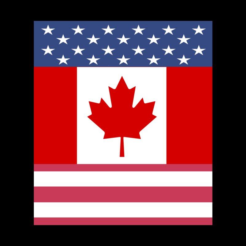Allies - Canada - USA by Bonnie Ferrante's Artist Shop