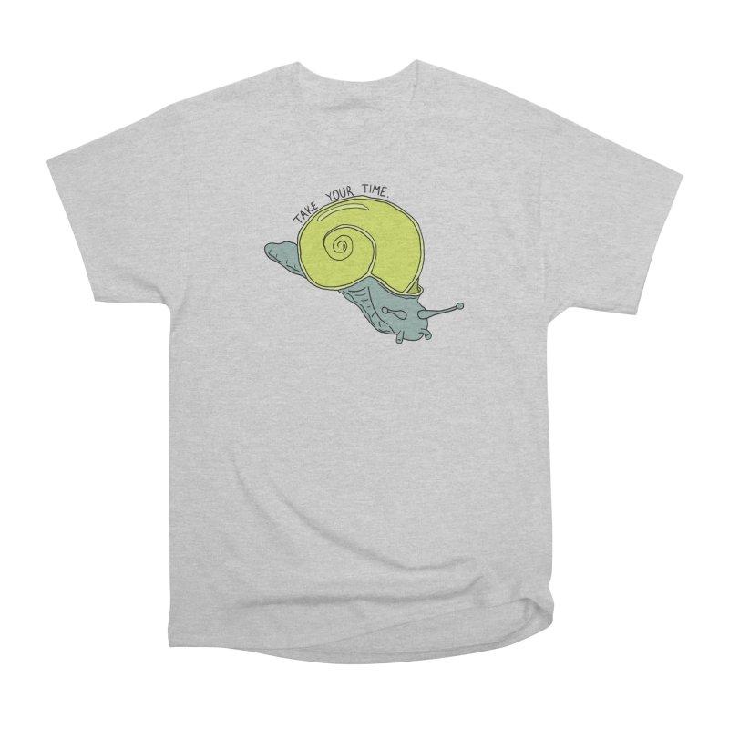 A Snail's Pace Men's T-Shirt by BoogerQueen's Artist Shop
