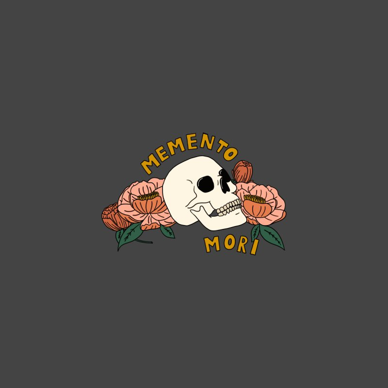 Memento Mori Home Stretched Canvas by BoogerQueen's Artist Shop