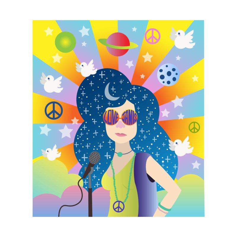 Janis Joplin Women's T-Shirt by BoohausDesigns's Artist Shop
