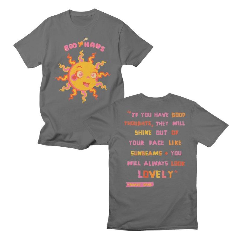Sunshine Men's T-Shirt by BoohausDesigns's Artist Shop