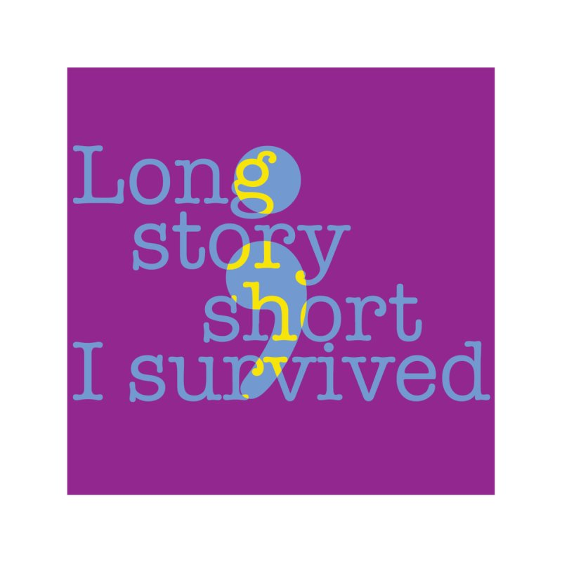 Long Story Short, I Survived Men's T-Shirt by BorderlineProject's Artist Shop