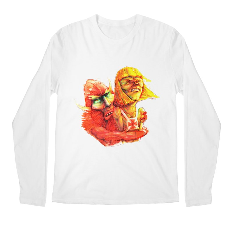 Hug It Out! Men's Longsleeve T-Shirt by BradGresham's Artist Shop