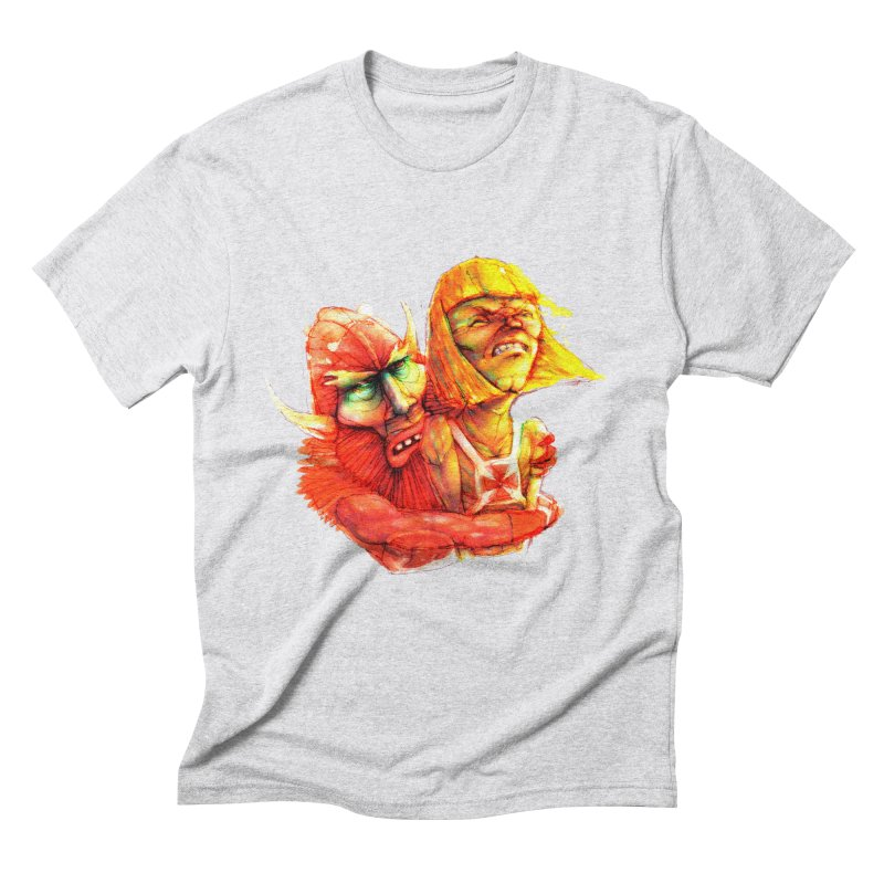 Hug It Out! Men's Triblend T-Shirt by BradGresham's Artist Shop