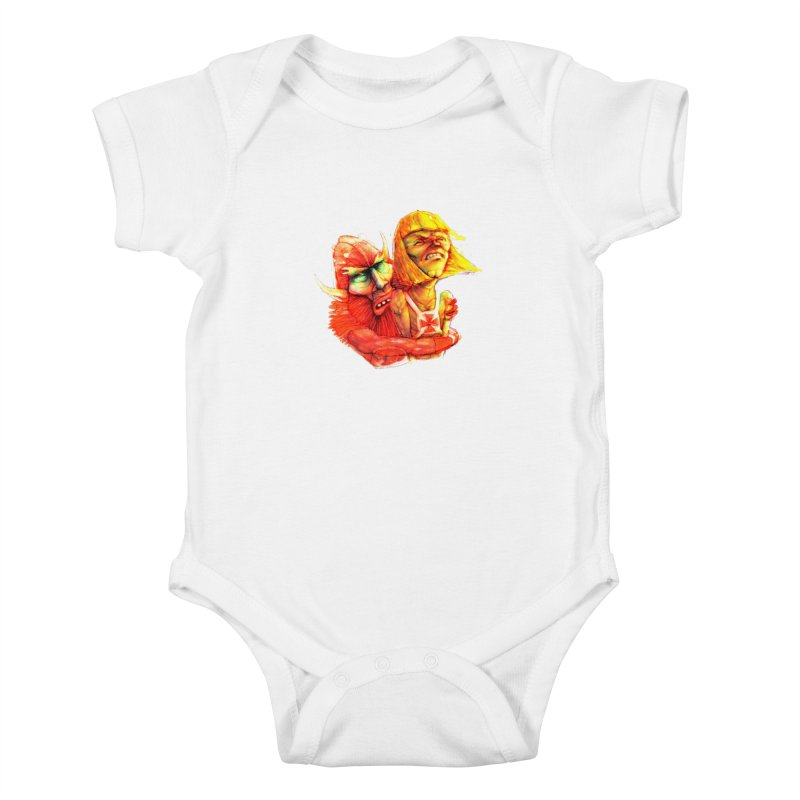 Hug It Out! Kids Baby Bodysuit by BradGresham's Artist Shop