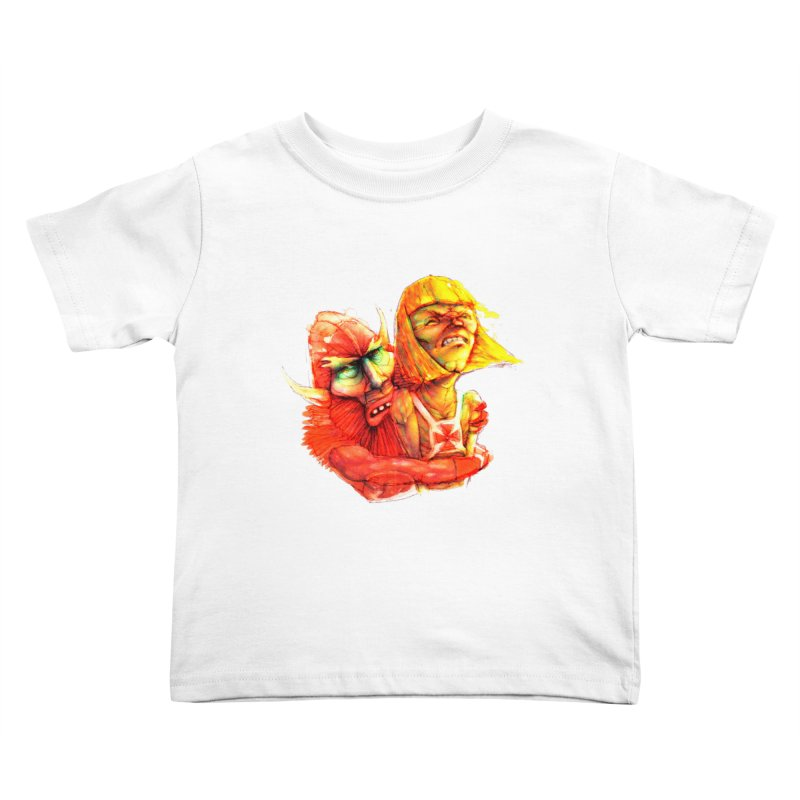 Hug It Out! Kids Toddler T-Shirt by BradGresham's Artist Shop