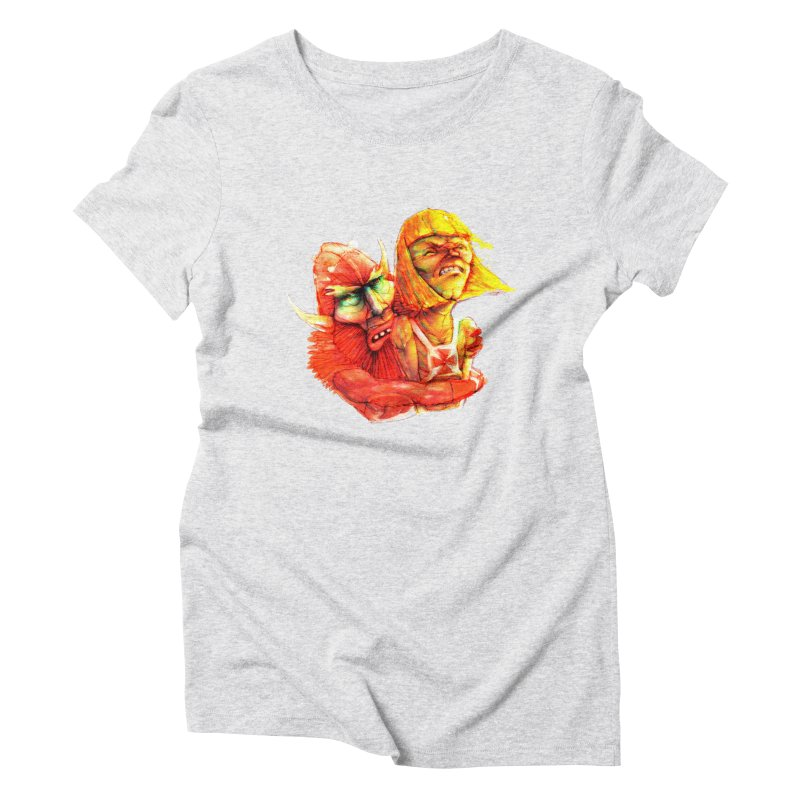 Hug It Out! Women's Triblend T-Shirt by BradGresham's Artist Shop