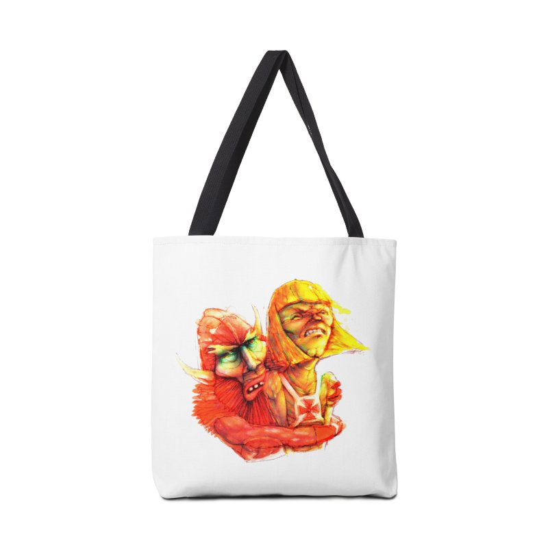 Hug It Out! Accessories Bag by BradGresham's Artist Shop