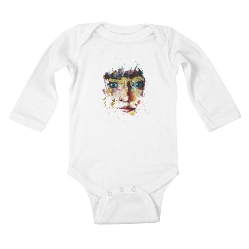 katiekangaroo Kids Baby Longsleeve Bodysuit by BradGresham's Artist Shop