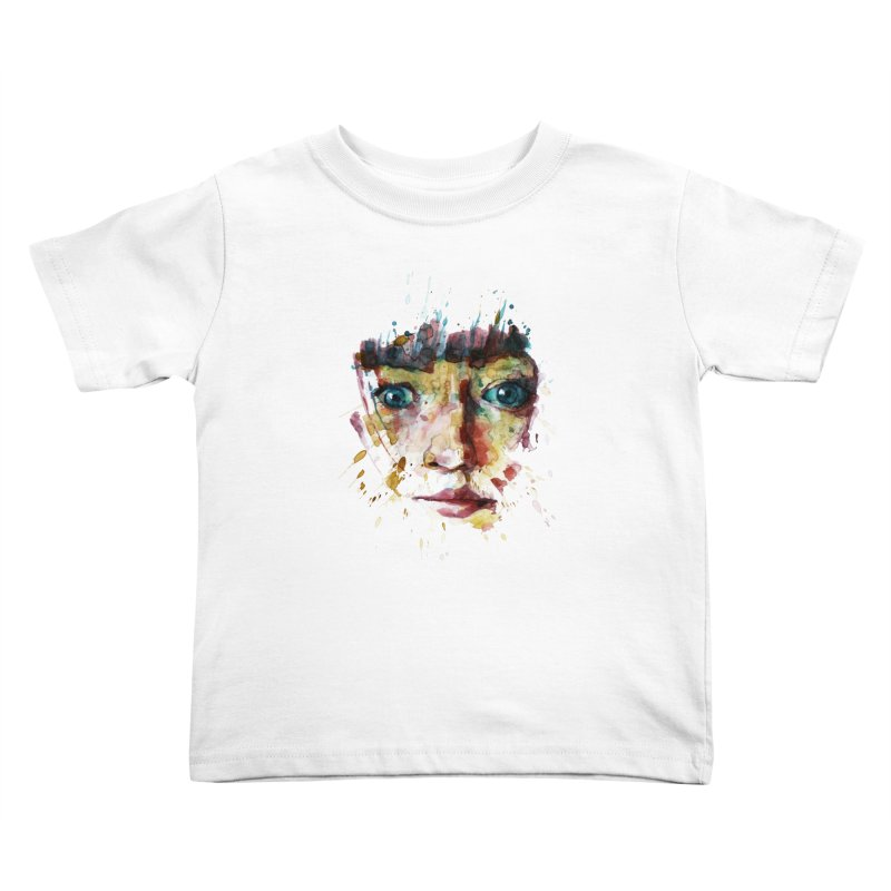 katiekangaroo Kids Toddler T-Shirt by BradGresham's Artist Shop