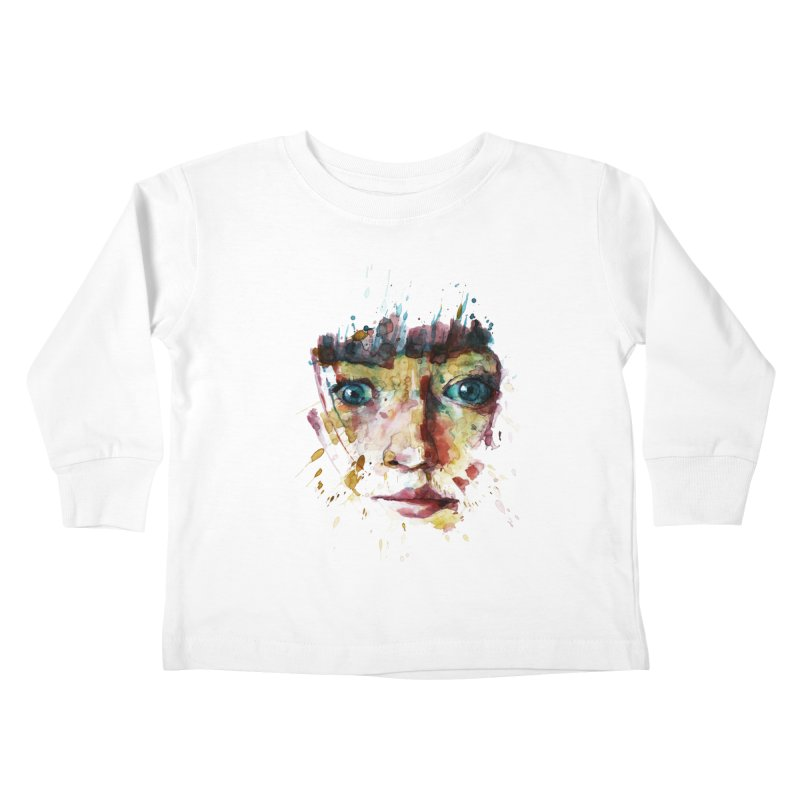 katiekangaroo Kids Toddler Longsleeve T-Shirt by BradGresham's Artist Shop