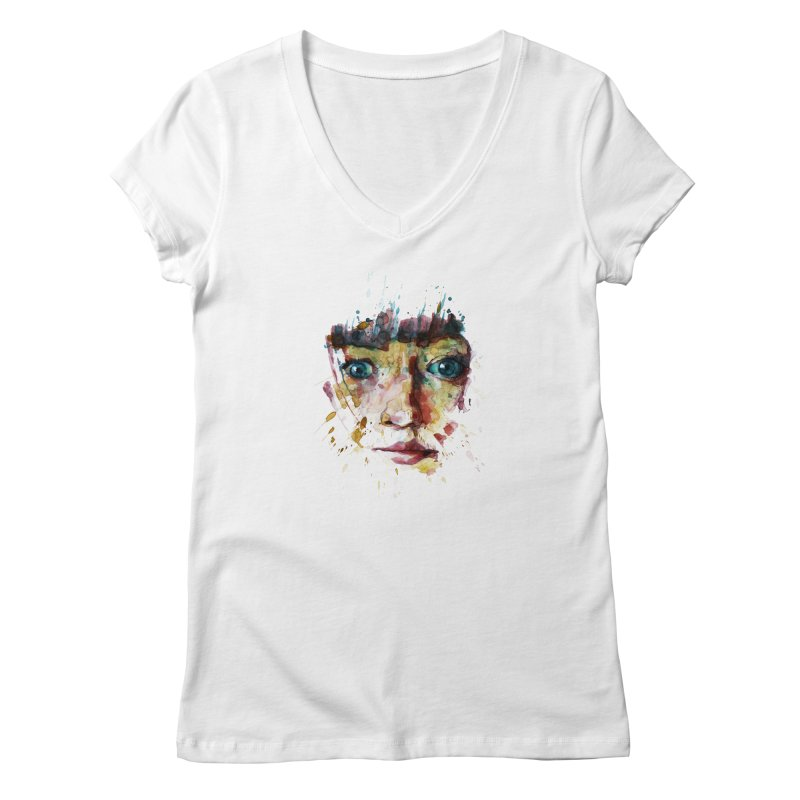 katiekangaroo Women's V-Neck by BradGresham's Artist Shop