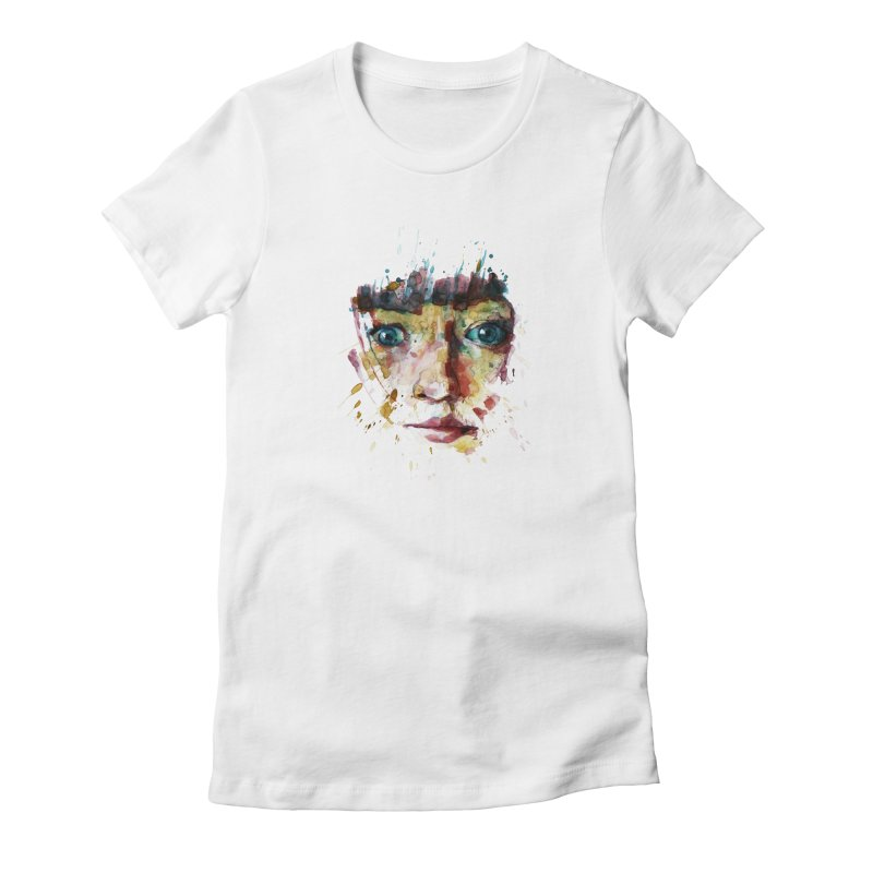 katiekangaroo Women's Fitted T-Shirt by BradGresham's Artist Shop