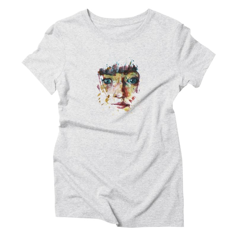katiekangaroo Women's Triblend T-Shirt by BradGresham's Artist Shop