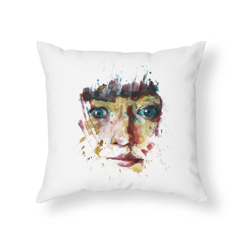 katiekangaroo Home Throw Pillow by BradGresham's Artist Shop