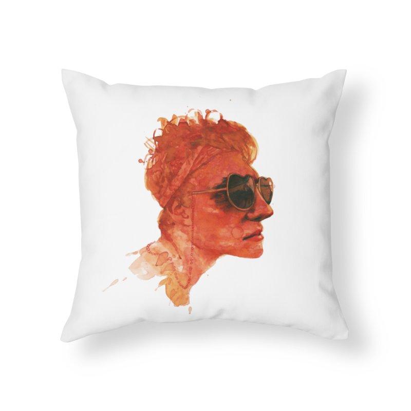 simonwater Home Throw Pillow by BradGresham's Artist Shop