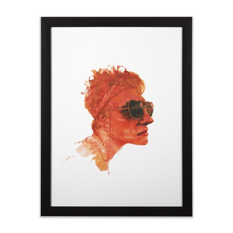 simonwater Home Framed Fine Art Print by BradGresham's Artist Shop