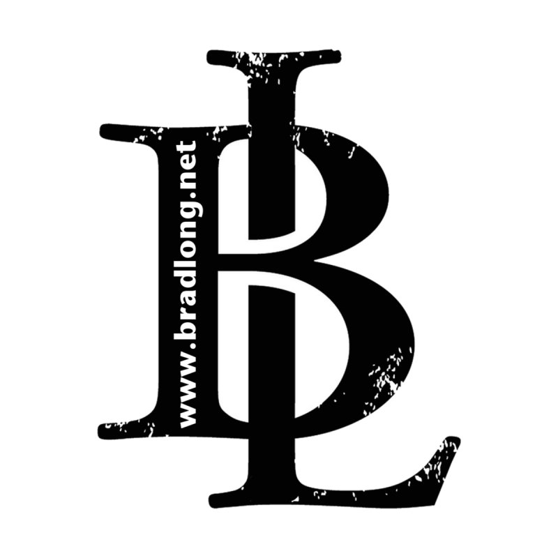 BL Logo(black) Home Mounted Acrylic Print by BradLong's Merch House