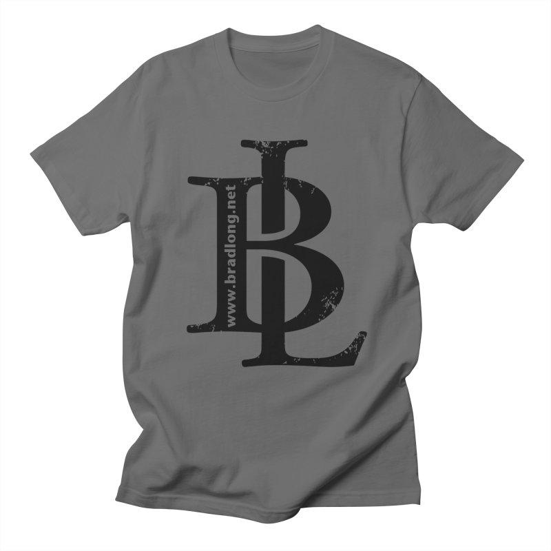 BL Logo(black) Men's T-Shirt by BradLong's Merch House